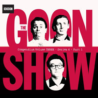 the goon show compendium volume 3 - the man who won the war (aka seagoon mcc), the secret escritoire, the lost emperor, napoleon's piano, the case of the missing cd plates, rommel's treasure, shangri-la again, the international christmas pudding, the pevensey bay disaster, the sale of manhattan (aka the lost colony), the terrible revenge of fred fu-manchu, the lost year, & the greenslade story, plus bonus archive items